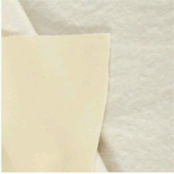 Curtain Bonded lining & interlining pale ivory 137 cm wide