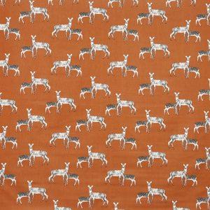 Prestigious Textiles Nature Deer Cinder Curtain Fabric