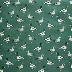Prestigious Textiles Nature Duck Teal Curtain Fabric