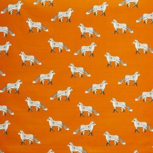 Prestigious Textiles Nature Fox Umber Curtain Fabric