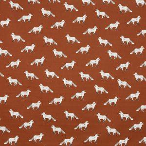Prestigious Textiles Nature Cub Russet Curtain Fabric